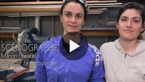 Vignette vidéo : Soyez créateur d'univers | Étudiez la scénographie