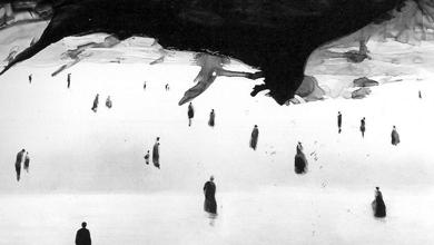 Crédit photo: Gao Xingjian, La Fin du monde, 2006, encre de chine